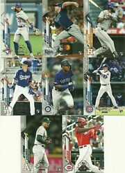 2020 Topps Chrome TOPPS UPDATE PREVIEW 8-Card ROOKIE SET Bichette-Lewis-Lux RC++ $39.99