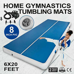 13 16 20FT Air Track Inflatable Air Track Floor Gymnastics Tumbling Mat GYMPump $215.49
