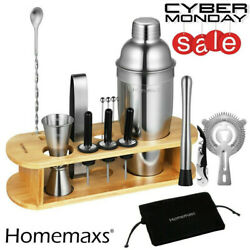 17 X Cocktail Shaker Mixer Drink Bartender Martini Tools Bar Set Kit party tool $30.99