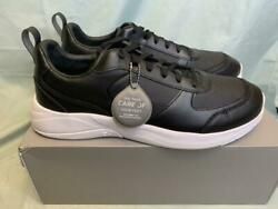 CARE OF by PUMA Men's Leather Low Top Casual Sneakers Shoe Black Size 13M $29.56