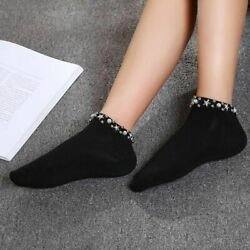 Pearl Star Socks Girls Fashion Comfortable Hollow Out Sock Pair College Fishnet $6.10