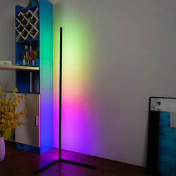 Colour Changing RGB Mood Lighting Metal LED Corner Floor Wall Lamp With Remote $69.99