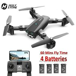 167 GPS RC Drone with HD Camera 1080P Foldable RC Quadcopter Follow Me 4 Battery $134.84