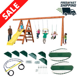 DIY Playground Kit Playset Custom Additional Swing Set Accessories Outdoor Play $107.98