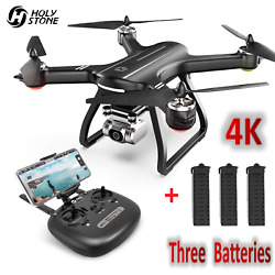 Holy Stone 4K GPS HS700D RC Drones with 5G HD Camera RC Quadcopter 3 Batteries $239.99