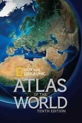 National Geographic Atlas of the World Tenth Edition National Geographic VeryGo $27.66
