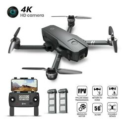 Holy Stone HS720 Foldable RC Drone with HD Camera 2K 5G Brushless GPS Quadcopter $189.99