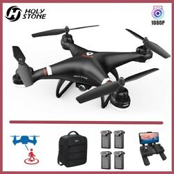 Holy Stone HS110G Drones with 1080P HD Video Camera Quadcopter GPS Follow Me Bag $129.99