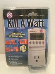 P3 International P4400 Kill A Watt Electricity Usage Monitor Brand New Sealed $31.99