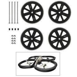 Spare Parts Upgrade Motor Pinion Gear Gears Black For Parrot Drone 1.0 2.0 NEW $6.98