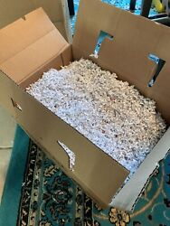 "Giant Box of Confetti Pet Bedding Compost Starter 17""x12""x12"" $3.50"