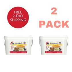 Emergency Food Supply 4 Person Kit Quick Meal Bucket Survival Bucket 2 Pack $55.00