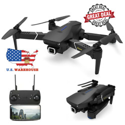 FAST 5G WiFi 4K HD GPS 1080P Foldable RC Drone Quadcopter W 2 or 3 Batteries $129.99