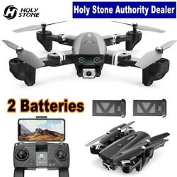 167 GPS RC Drone with HD Camera 1080P Foldable RC Quadcopter Follow Me 2 Battery $106.94