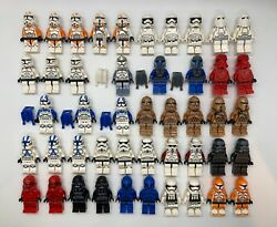 LEGO Star Wars Minifigures Lot Clone Troopers Stormtroopers Imperial YOU PICK $2.49