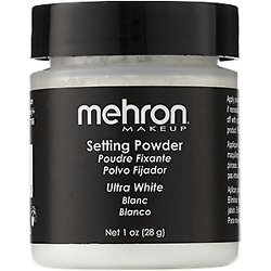 MEHRON ULTRAFINE SETTING FIXING POWDER PROFESSIONAL STAGE FACE POWDER MAKEUP $8.00