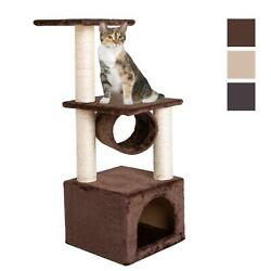 Deluxe 36quot; Cat Tree Condo Furniture Play Scratch Post Kitten Pet House Toy US $26.99