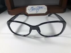 Nice Maui Jim Koki Beach MJ 433 28T Purple Tortoise Sunglasses Frames 56 16 130