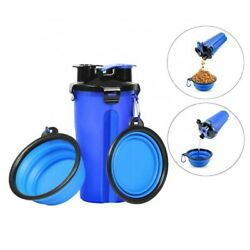 Customized pet Water Bottle Supply Mini Portable Dog Food Feeder for pet… $11.35
