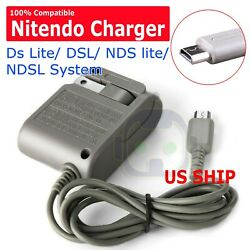 AC Adapter Home Wall Charger Cable for Nintendo Ds Lite DSL NDS lite NDSLs $4.75