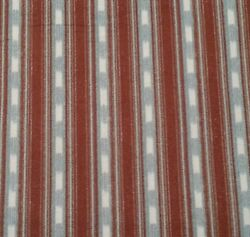 21quot; Rustic Living Arthur Kenneth Quilting Treasure North Woods Brown Blue Stripe $5.99