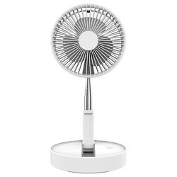 Adjustable Foldable Floor Table Fan USB Portable 4 Speed Remote Control Recharge $63.99