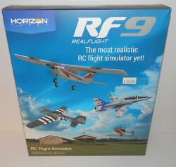 Horizon Real Flight RF9 RC Flight Simulator Software Only #RFL1101 with update $99.99
