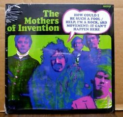 ZAPPA Mothers of Invention HOW COULD I BE SUCH A FOOL RSD 45 Pink Vinyl #ed NEW $19.99