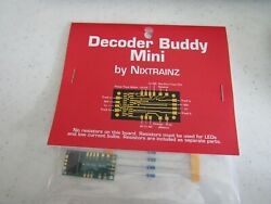 Decoder Buddy Mini for 21PNEM decoders W onboard Resistors Bob The Train Guy $13.22
