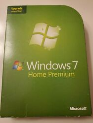 WIndows 7 Home Premium Upgrade with product key C $29.99