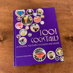 1001 Cocktails A Cocktail For Every Occasion And Mood By Robbie Bargh Hardcover $10.50