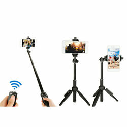 New 3 in 1 Wireless Bluetooth Selfie Stick Mini Selfie Tripod with Remote US $13.60