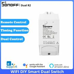 SONOFF DualR2 2 Way WIFI Smart Home Switch Refit Wireless APP Remote Controlled