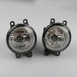 Pair Fog Light Lamp fit for Toyota Camry Corolla Tacoma Yaris Left and Right New $15.19