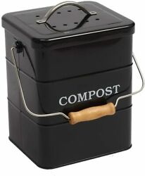 Indoor Kitchen Compost Bin for Kitchen Countertop Great for Food Scraps Carbon $32.99