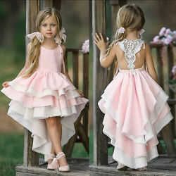 Birthday Toddler Baby Girls Dress Clothes Christmas Dance Princess Dress Costume $15.03