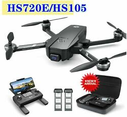 Holy Stone HS720E HS105 Drone with EIS 4K UHD Camera GPS Foldable FPV Quadcopter $249.79