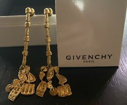 """Givenchy Earrings NWT """"Shower"""" Gold Color $150.00"""