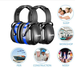 34dB Noise Cancelling Ear Muffs Hearing Protection Shooting Ear Defenders $12.99