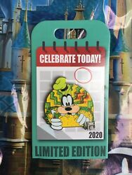 Disney Parks 2020 Goofy Celebrate Today National Taco Day LE Pin $24.89