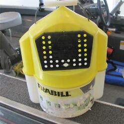 Frabill 6qt Flow Troll Minnow Bucket Aerated Fishing Live bait Container $6.50