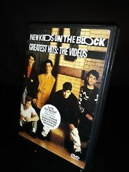 New Kids on the Block Greatest Hits: The Videos DVD 1999 New Disc Loose $13.99