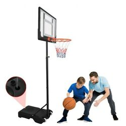 4.76 6.9FT Kids Portable Basketball Hoop System Stand With Backboard amp; Wheel CHE $98.99