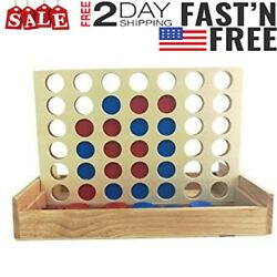Giant Connect 4 Large Outdoor Games Yard Big Huge Four Lawn Wooden Jumbo Gam Top $16.95
