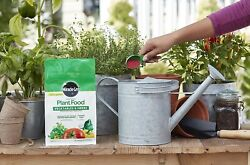 Miracle Grow Water Soluble Plant Food Vegetables and Herbs Fertilizer 2 lb pack $13.95