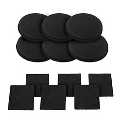 12 Pieces Activated Carbon Filters Compost Bin Replacement Filters $22.19