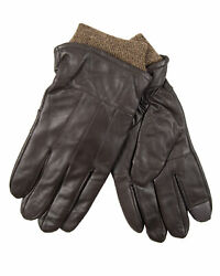 Heat Edge Warm Winter Leather Touchscreen Driving Mens Gloves $12.00