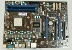 MSI 970A MS7693 AM3 GAMING MOTHERBOARDAMD Phenom II 1035T 2.6G 6 core CPU #MB79 $129.00