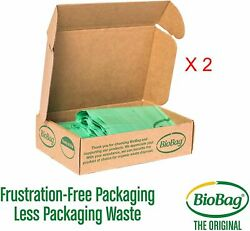 Lot of 2 BioBag Compostable Table Kitchen Food Scrap Bags 13 Gallon 96 Count $15.96