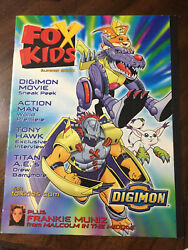 Totally Fox Kids Magazine 3 issues buy 1 or more $10 each. $10.00